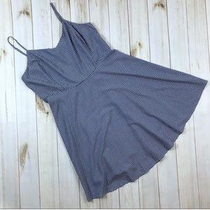 Old Navy Blue Gingham Swing Dress